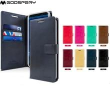 Original Goospery Stehen Brieftasche Flip Ledertasche Für Samsung Galaxy M10 M20 M30 A10 A20 A30 A40 A50 A70 A7 a8 A9 Plus 2018 Abdeckung