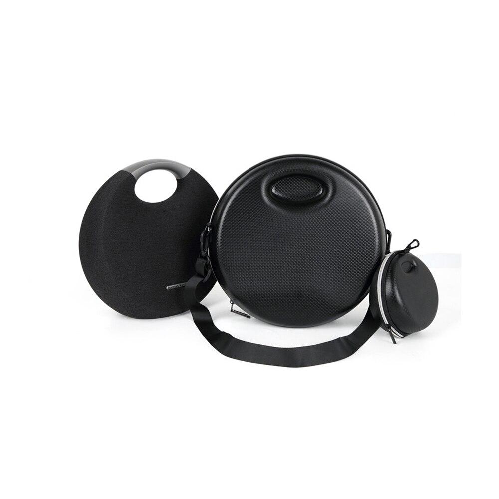Bolsa de Estuche de transporte EVA para Harman Kardon Onyx Studio 5 altavoz inalámbrico Bluetooth a prueba de golpes funda protectora con bolsa pequeña