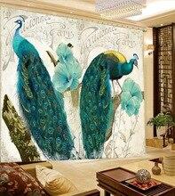 Rideau décoratif fenêtre paon 3D   Draperies pour chambre à coucher, bureau, hôtel, rideaux muraux décoratifs pour la maison