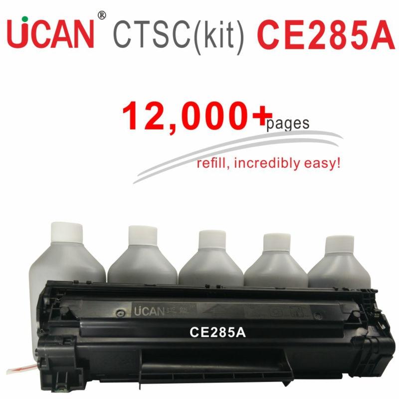 CE285a 285a 85a принтер лазерный для компьютера Hp LaserJet Pro P1102 P1102w M1130 мфу M1132 МФУ M1212nf тонер для принтера 12,000 страниц
