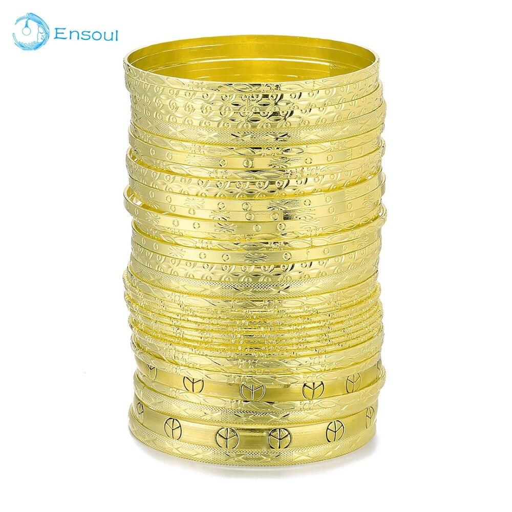 El alma a nueva moda estilo superior 33 unids/lote oro del encanto de la flor mezclado pulseras y brazaletes para mujeres joyería amistad regalos