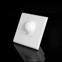 Free shopping  220/AC-240V/AC 360 degree Microwave Sensor Light Switch Induction Microwave Motion Sensor 86 motion sensor switch