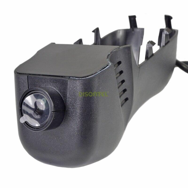 DISONTEL coche grabador de vídeo DVR Novatek 96655 IMX 322 Dashcam para Volkswagen Touareg 2011-2016 WiFi APP de manipulación