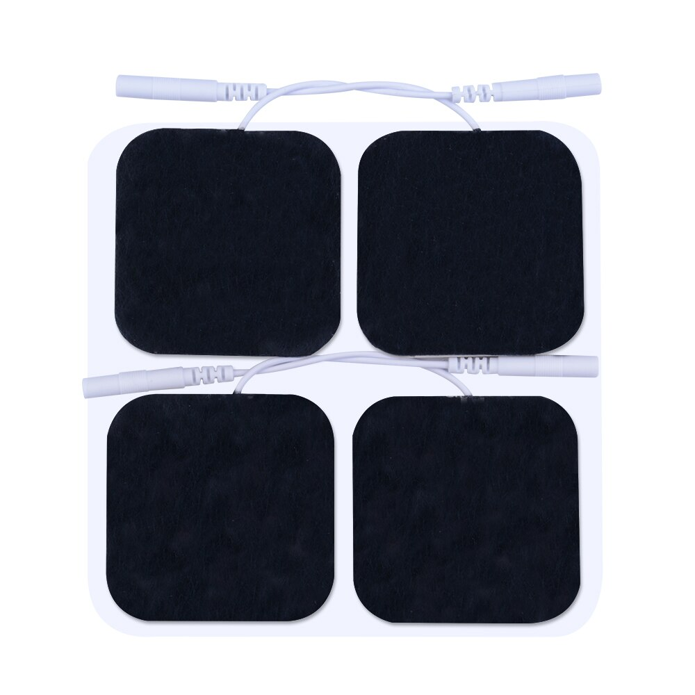 Pelvifine TENS Massage Unit khaki Electrodes Pads 5x5 10Pcs 20pc 40pc Replacement Pads Electrode Patches For Electrotherapy