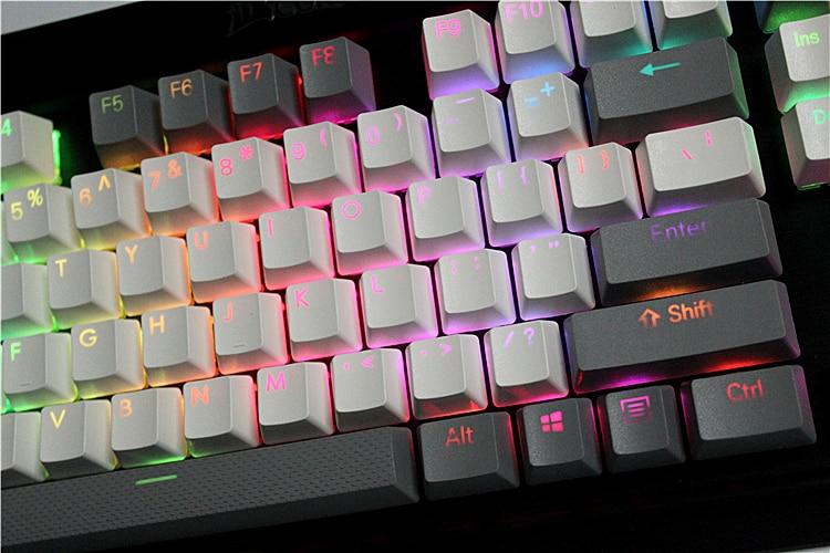 Клавиатура для клавиатуры, проводная, механическая, с 108/87 клавишами MP, с подсветкой PBT для Corsair stafe K65 K70 Logitech G710 +