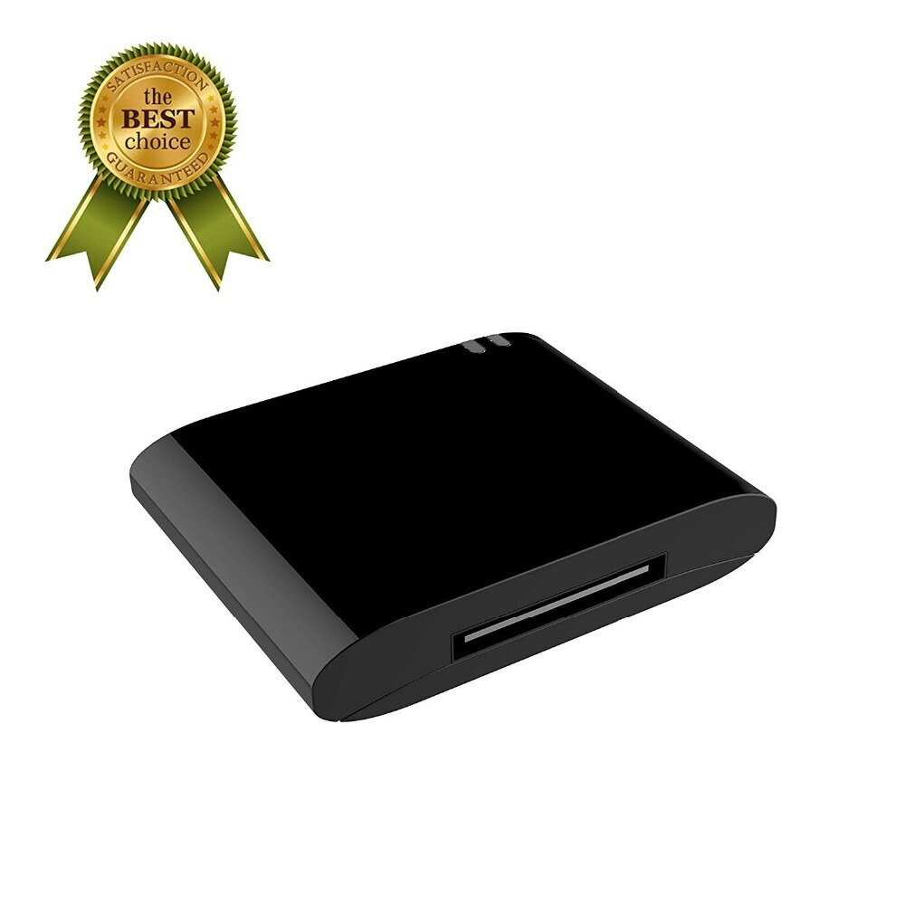 30Pin receptor de música Bluetooth 30 Pin Adaptador de Audio estéreo para Sony AIR-SW10Ti ICF-7iP ICF-c05iP ICF-C1iPMK2 ICF-CS10iP altavoz