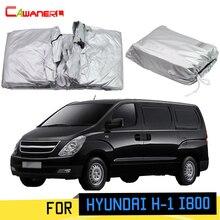 Cawanerl Für Hyundai H-1 i800 Grand Starex Auto Abdeckung Sonnenschutz Anti-Uv Regen Schnee Kratzfest MPV Abdeckung Winddicht