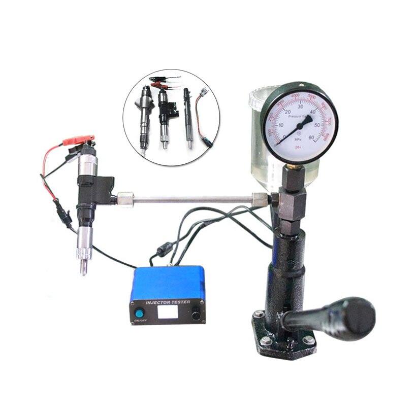 ERIKC diesel Common rail injektor tester CRI800 multifunktions USB Test Maschine und S60H piezo cr Injektor Düse tester
