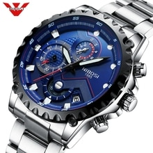 NIBOSI Men Watch Large Face Dial Sports Watches Men's Fashion Army Watch Men Military Clock Quartz Wristwatch Relogio Masculino