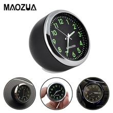 Mini Car Clock Luminova Car Accessories Car Mechanics Quartz Clock Car cute watch With Luminous Ligh