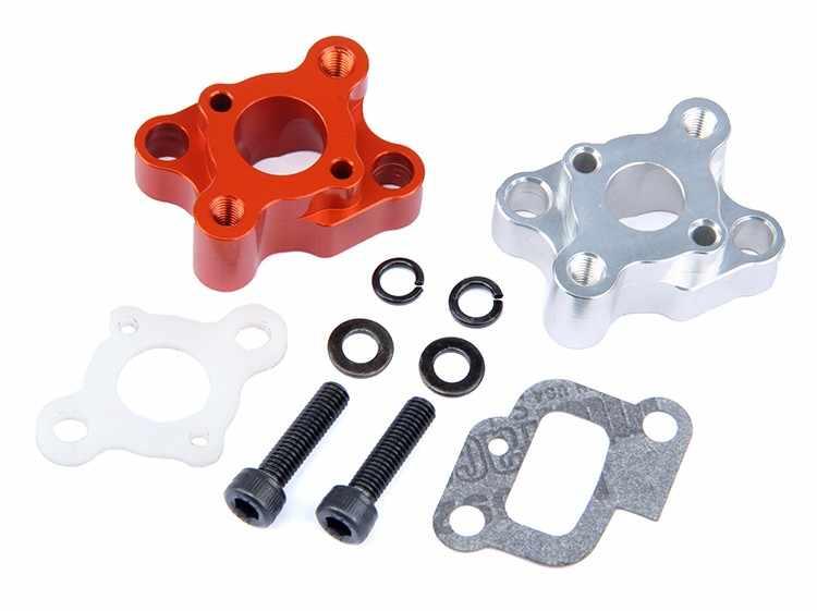 Cnc Intake Manifold Set For 23 30 5cc Gas Engine Zenoah Cy Hpi Baja 5b 5t 5sc Losi 5ive T Rovan King Motor Engine Parts Baja 5bbaja 5b Parts Aliexpress