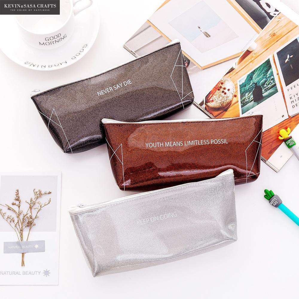 New Pencil Case Kawaii School Supplies Stationery Gift Cute Pencil Box Pencilcase Office School Tools Pencil Cases Tools