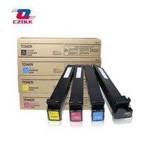 1 Uds X nuevo compatible TN213 TN214 TN314 cartucho de tóner para Konica minolta bizhub C200 C203 C253 C353 C210 B = 450g CMY = 350G