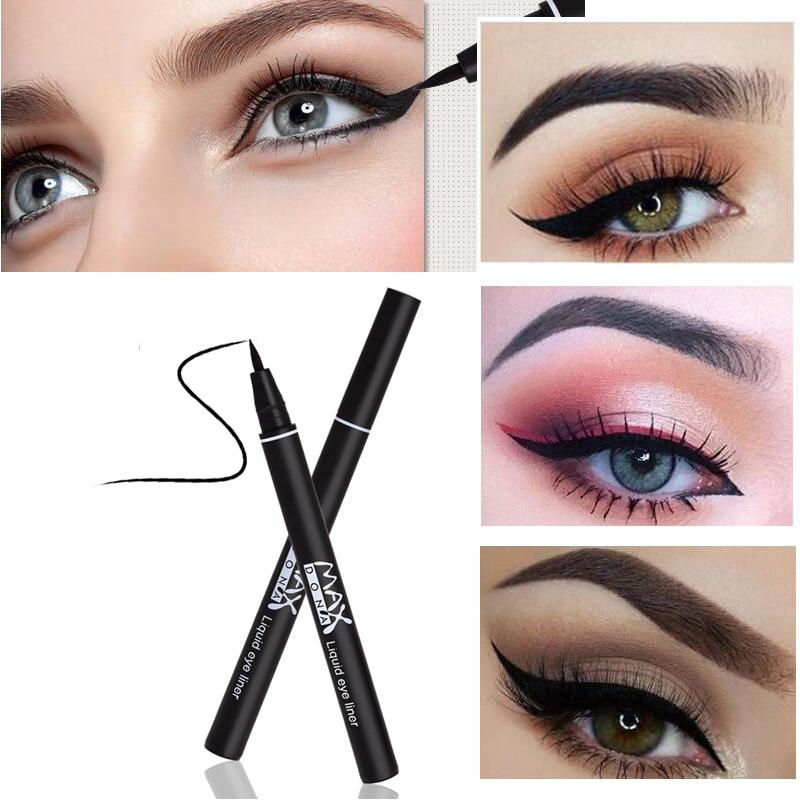 Fashion Professional Makeup black Liquid Eyeliner Pencil Makeup set Liner Waterproof Long Lasting Eye Liner Pen Tools cosmetics