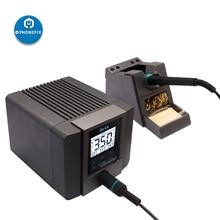 Rapide TS1200A Station de reprise intelligente sans plomb BGA Station de fer à souder LED écran tactile pour la réparation de la carte mère de téléphone