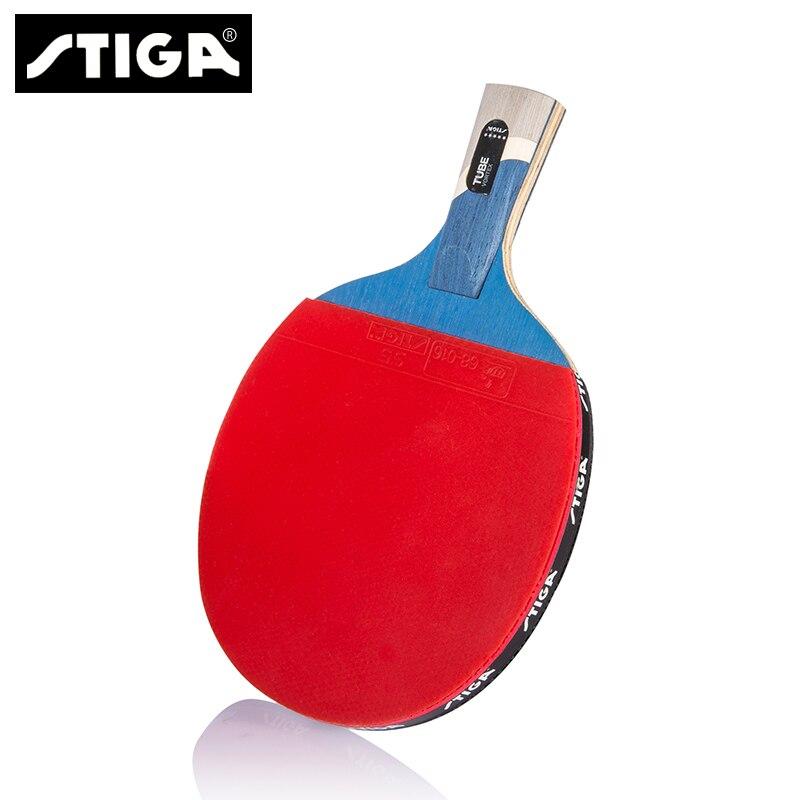 Stiga balle de tennis de table la balle de Ping-Pong ppq de cinq étoiles raquette de tennis de table longue/courte manche