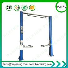 2 Post Car Lift /Clear floor two post lift/small hydraulic lift