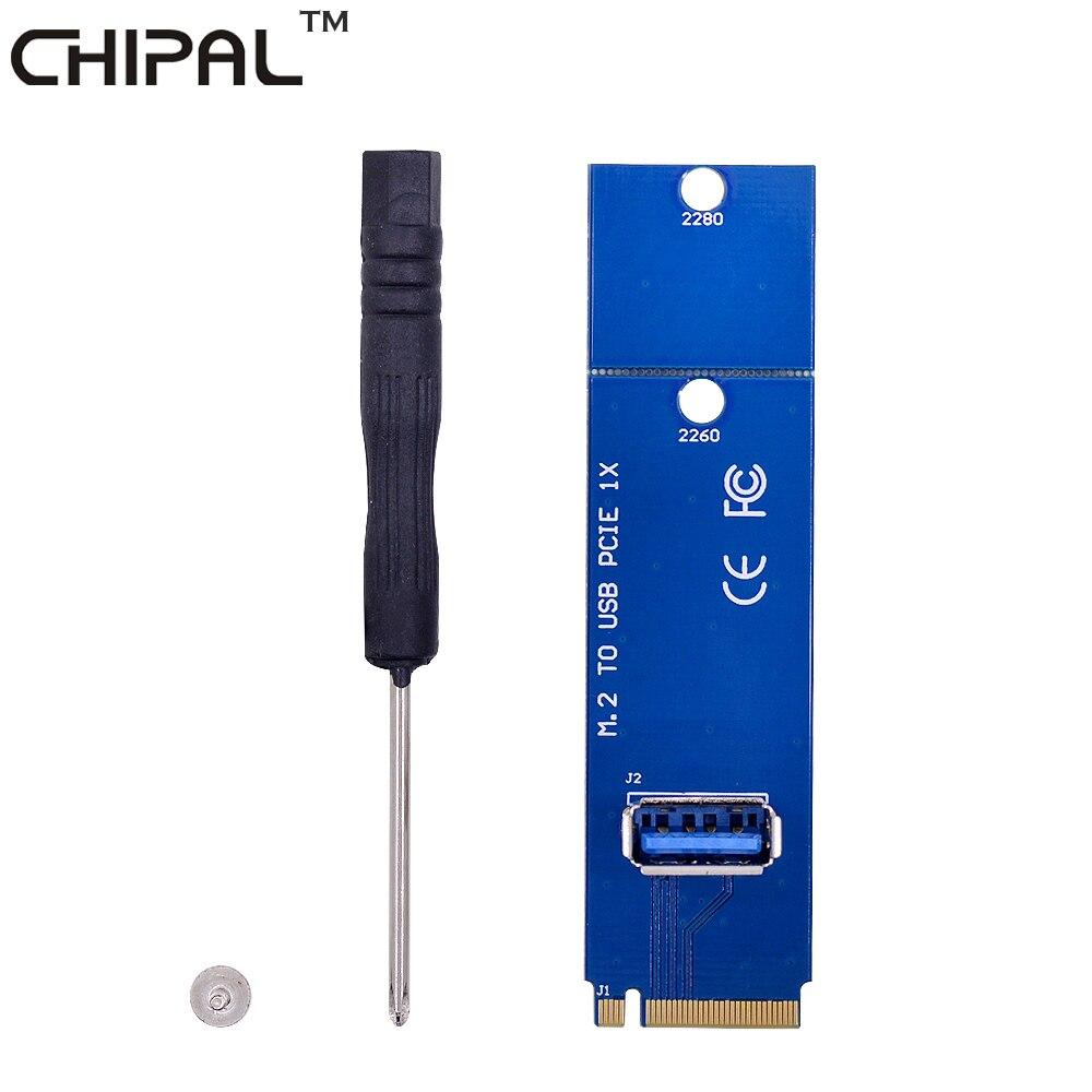 CHIPAL 10 шт., NGFF M.2 на USB 3,0, портативный конвертер M2 в USB3.0 для переходной карты PCI E для майнера BTC LTC ngff m.2 to usbm.2 to usb   АлиЭкспресс