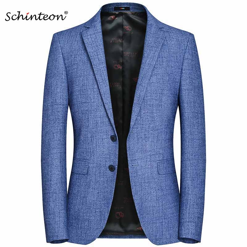 Top Quality 2020 New Men Casual Business Blazer Jacket Slim Outwear Suit Young Clothing Party M-4XL XT8107