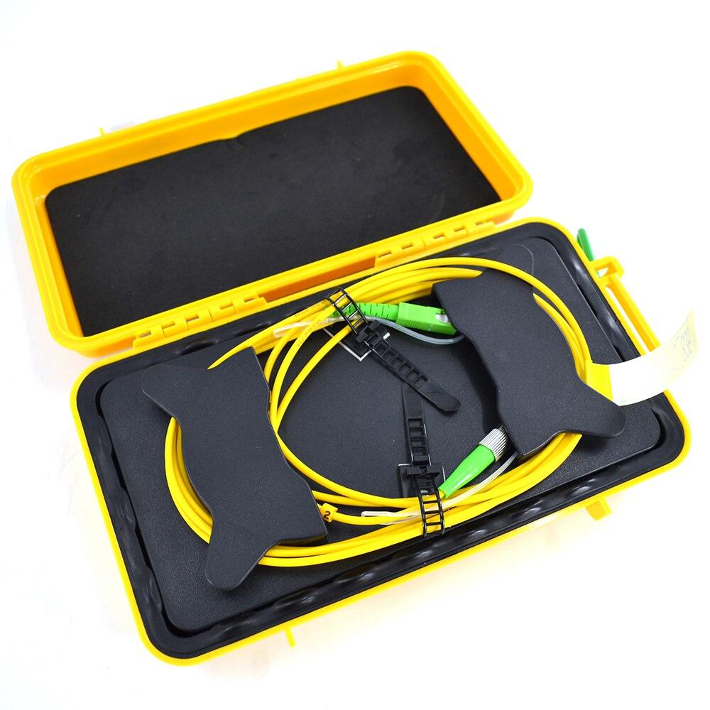 DHL free shipping 500M 850/1300nm MM OTDR Dead Zone Eliminator Fiber Optic OTDR Launch Cable Box