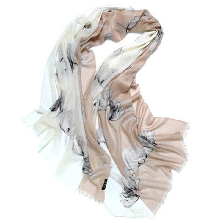 أوشحة كشمير للنساء 100% ، شال باشمينا رقيق ، ألوان مرقعة مطبوعة ، 70 × 200 سم ، موضة جديدة