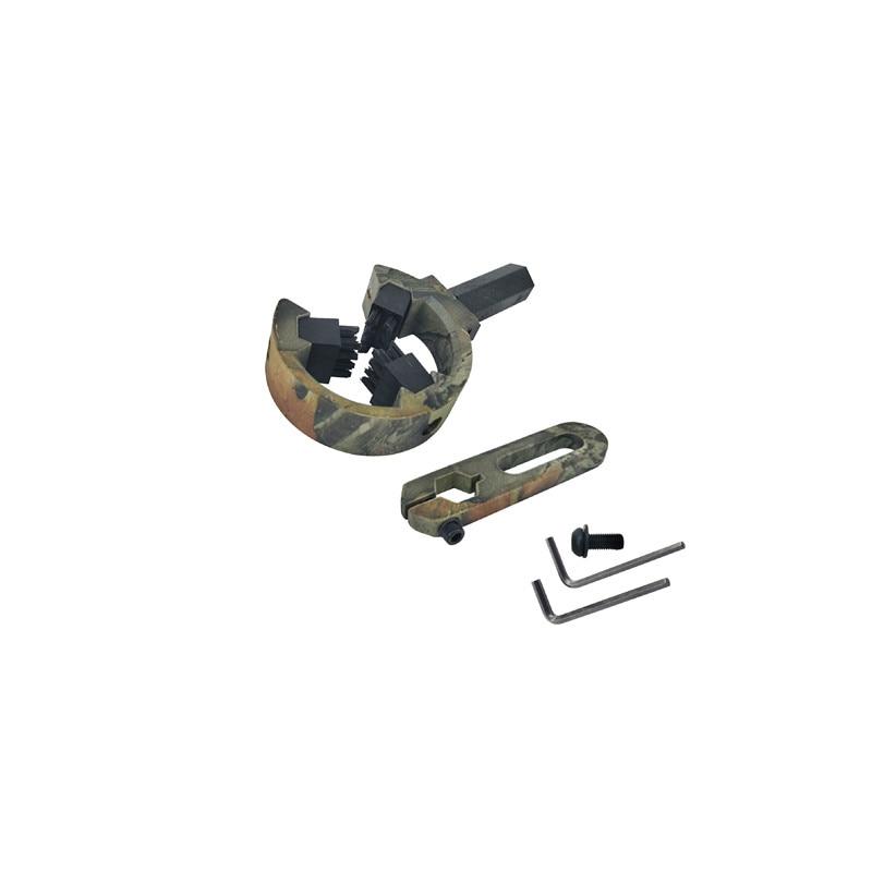 Camo caça tiro com arco escova captura seta resto à direita da mão esquerda para arco composto t com 3 escovas acessórios