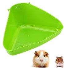 Bac poubelle en plastique pour petits animaux   Coin des animaux, litière des toilettes, pour chat souris Rat lapin Hamster souris en plastique, poubelle pour petits animaux