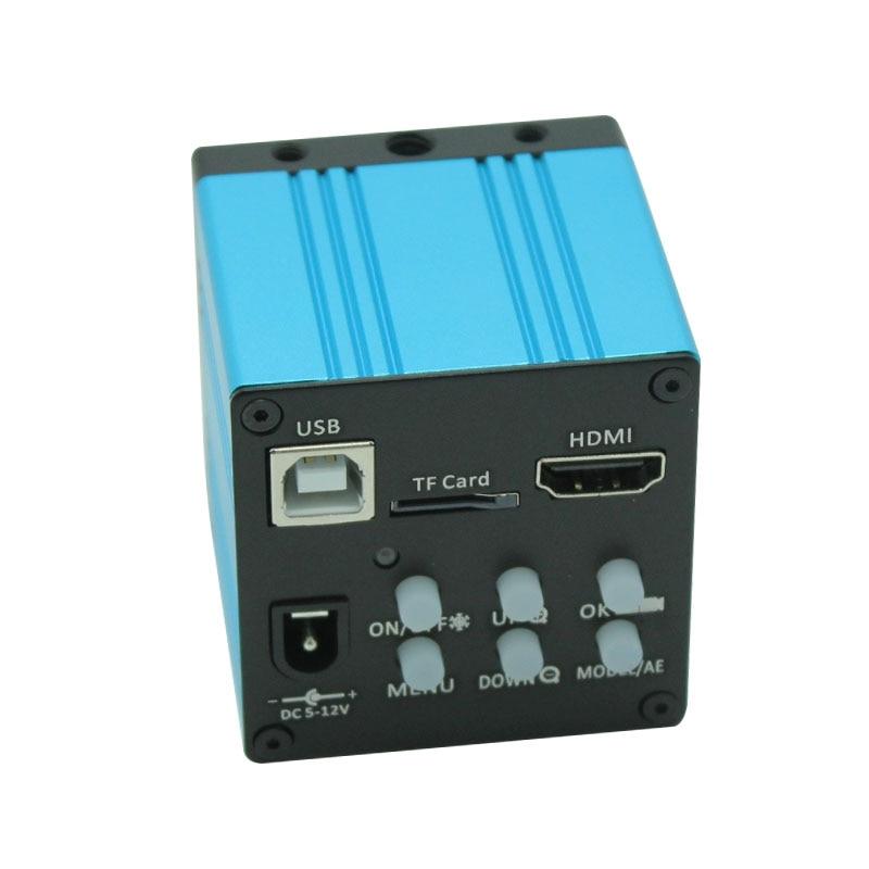 Livraison gratuite 14MP 1080 P 3 en 1 TV HDMI USB industrie numérique c-mount Microscope caméra TF carte sortie pour PCB LCD Lab nouveau