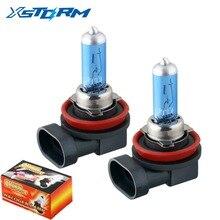 Ampoules halogènes H8 35W   2 pièces, ampoules de phares de voiture, antibrouillard, Source de lumière très brillante, voiture style parking 12V
