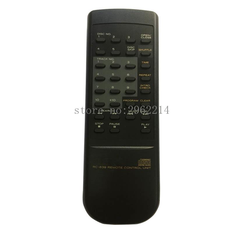 Nuevo RC-639 de control remoto Original adecuado para TEAC CD Audio/reproductores de Video control remoto