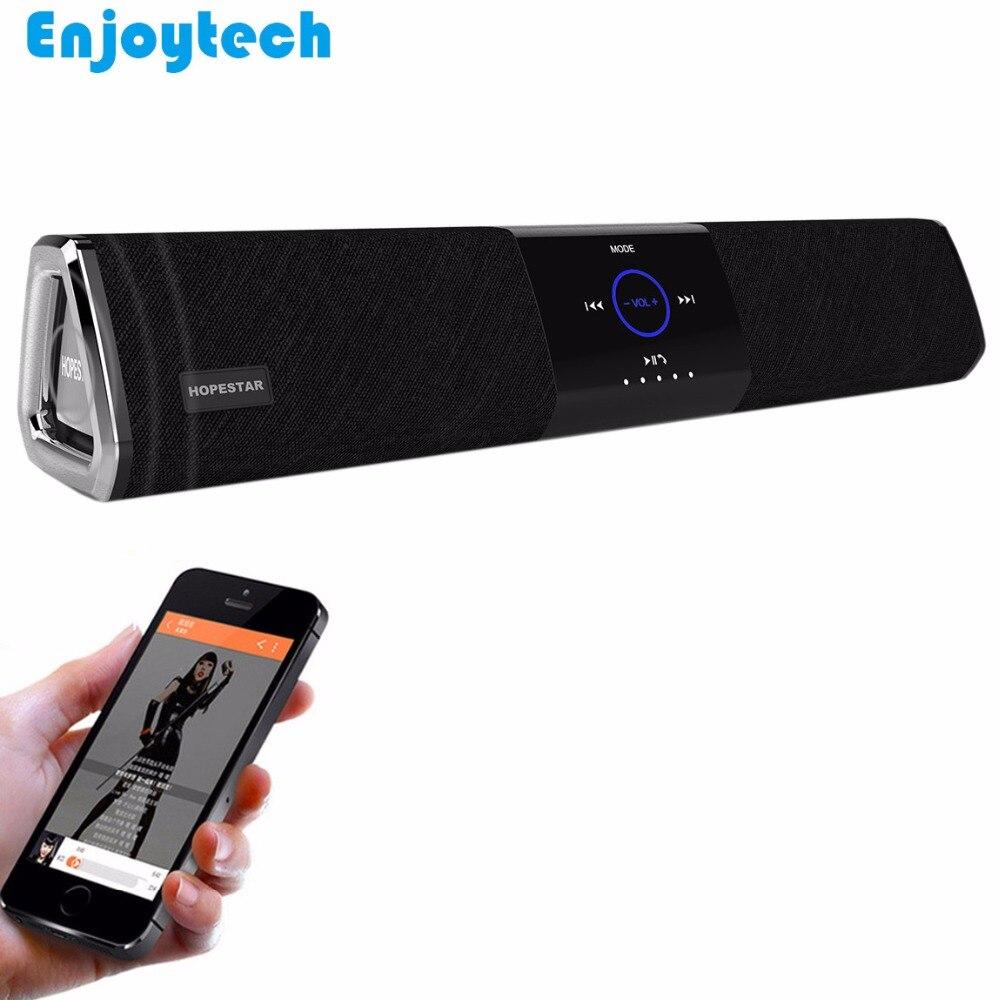 Nouveau sans fil NFC Bluetooth haut-parleur 10W * 2 barre de son pour projecteur de télévision ordinateur portable Subwoofer pour Iphone Xioami Samsung Huawei téléphones