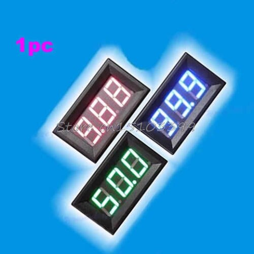DC0-10A Ampere LED Amp Panel Meter 3Bit Display No Need Shunt Digital Ammeter G08 Whosale&DropShip