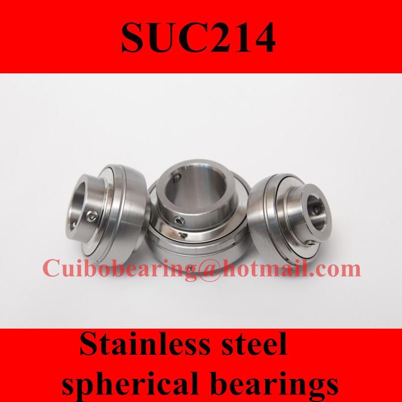 محامل كروية من الفولاذ المقاوم للصدأ SUC214 UC214
