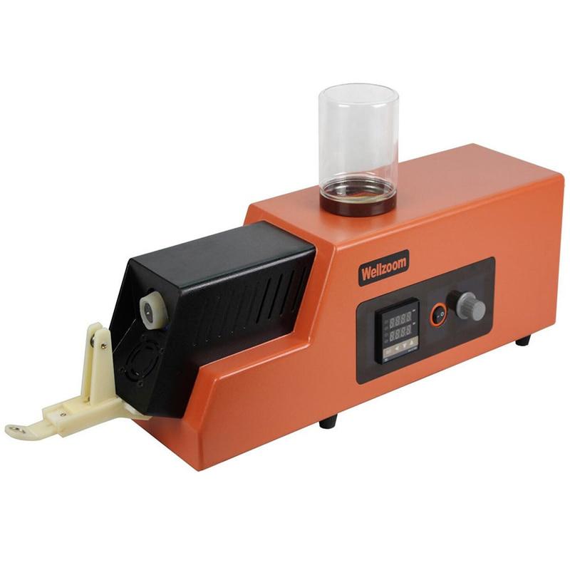 REX-C100 3d ماكينة طرد مركزية فتيلية/سرعة قابل للتعديل 3d خيوط صانع سطح المكتب 3D الطباعة الاستهلاكية الطارد 1.75 مللي متر 3 مللي متر