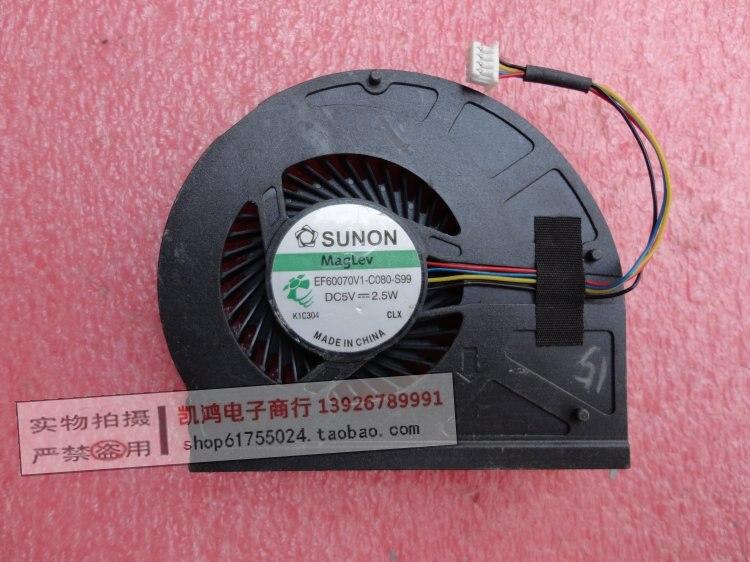 Portátil ventilador de refrigeración de la cpu enfriador para Lenovo G360 G360-A serie EF60070V1-C080-S99 G360A-ITH KSB0505HB-BH13