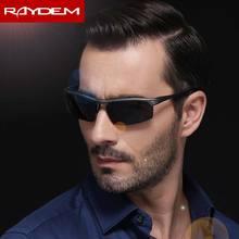 Raydem lunettes De soleil polarisantes hommes   Lunettes De sport, lunettes De soleil pour la conduite, Oculos De Sol, lunettes en aluminium et magnésium, 2018