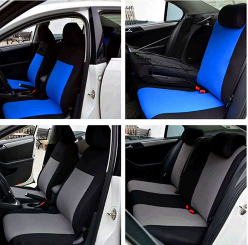 Hot Sale Car Seat Covers Universal Fit Polyester 3MM Composite Sponge Car Styling lada car cases seat cover accessories 2017