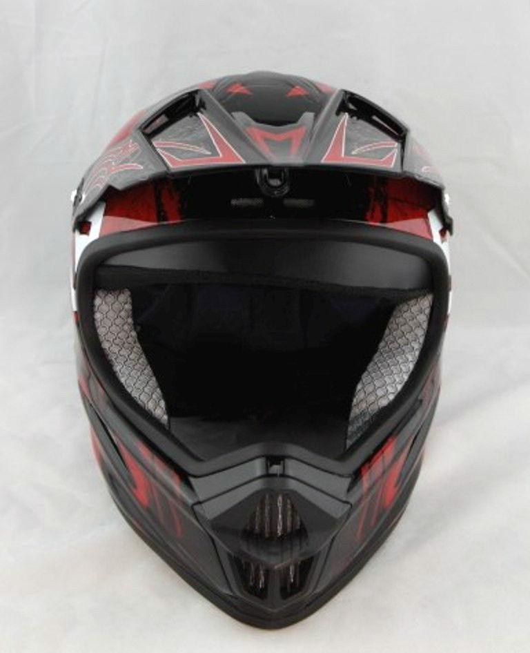 2015 Motorcycle helmet MTB Snowboard Full Face Racing Helmet with Goggles, Red/Black cycling helmet