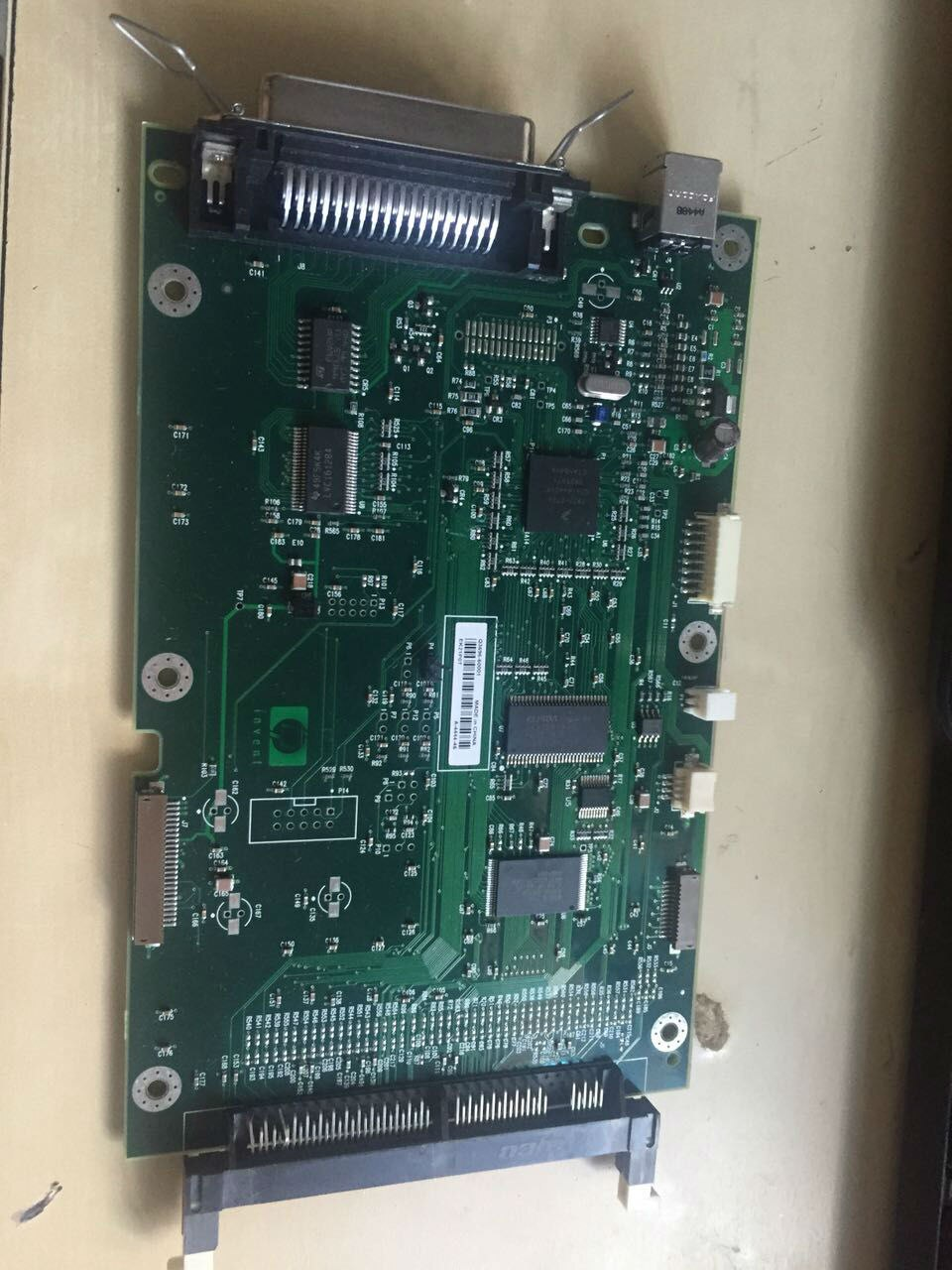 Q3696-60001 Q3696-67901 CB355-67901 ل HP LaserJet 1320 المنسق مجلس الجمعية USB استخدام printerd طابعة أجزاء