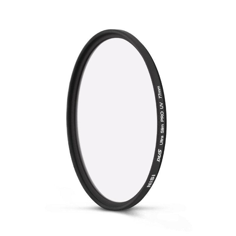 NiSi Ultra Slim lente con filtro ultravioleta Filtro de protección para nikon Canon Sony 37 40,5 46 52 55 58 62 67 72 77 82 49 105 40 86 46mm