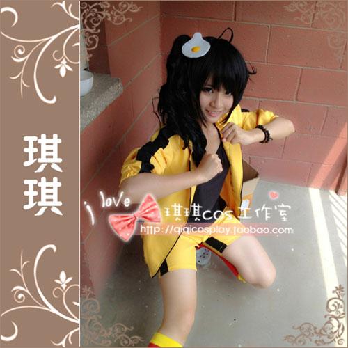 Monogatari Nisemonogatari Bakemonogatari Karen Araragi Cosplay traje