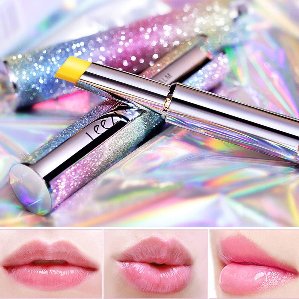 Lápiz labial de estrella arcoíris Star de Color térmico, resistente al agua, larga duración, hidratante, incoloro, bálsamo labial, cuidado de labios de bebé GlossTSLM1