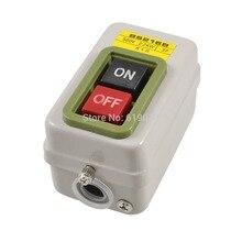 BS216B interrupteur à bouton-poussoir   Verrouillage automatique, 3 phases 500V 2.2KW