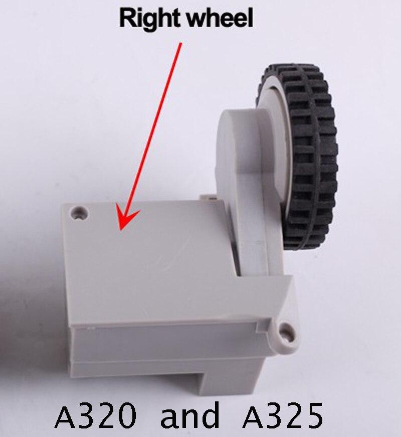 A325 و a320 قطع غيار جهاز آلي لتنظيف الأتربة عجلات ، بما في ذلك الجمعية عجلة الحق x 1 قطعة شحن مجاني