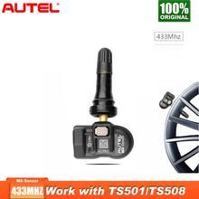 4 шт./лот Autel MX sensor 433 МГц Автомобильный TPMS инструмент для контроля давления в шинах автомобильная система контроля давления для OBD2 TPMS для давления в шинах