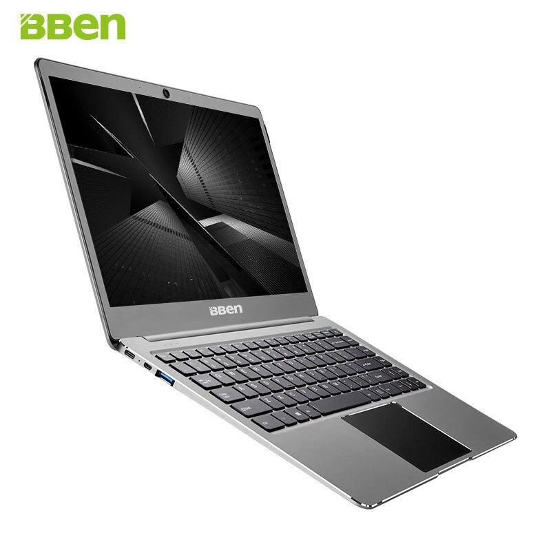 BBEN N14W Laptop Netbook Windows 10 Intel Celeron N3450 Quad Core 4GB RAM 64G ROM WiFi BT4.0 Type C 14.1 inch Ultraslim