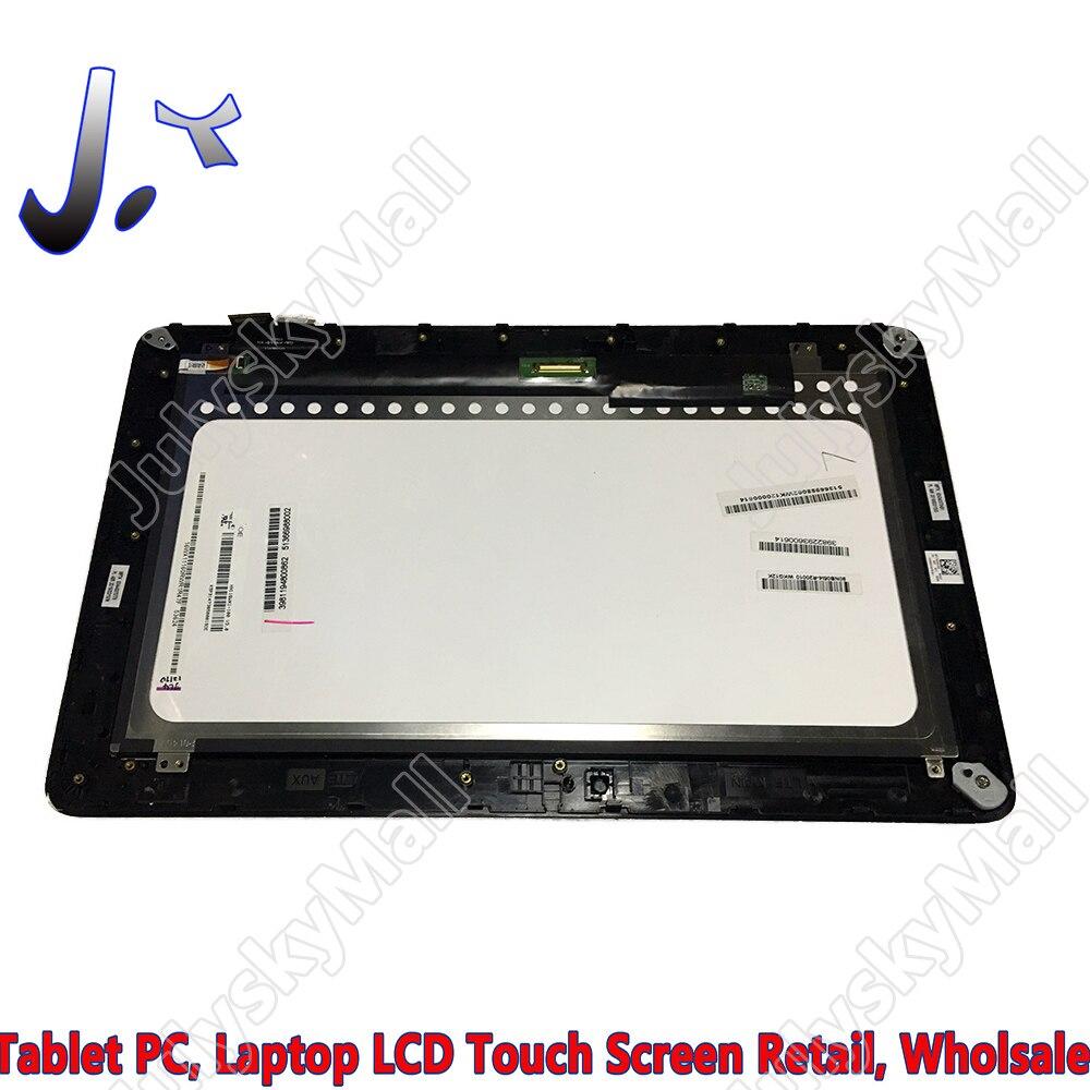 """HN116WX1-10011.6 """"para ASUS T200 T200TA Pantalla de panel plano LCD + digitalizador de pantalla táctil Unidad de vidrio con piezas de repuesto de Marco"""