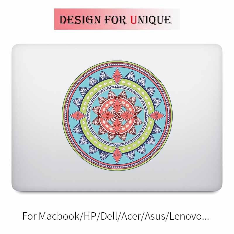 Наклейка для ноутбука Мандала 11/12/13/15 дюймов sticker for apple macbook laptop stickerflower laptop sticker  
