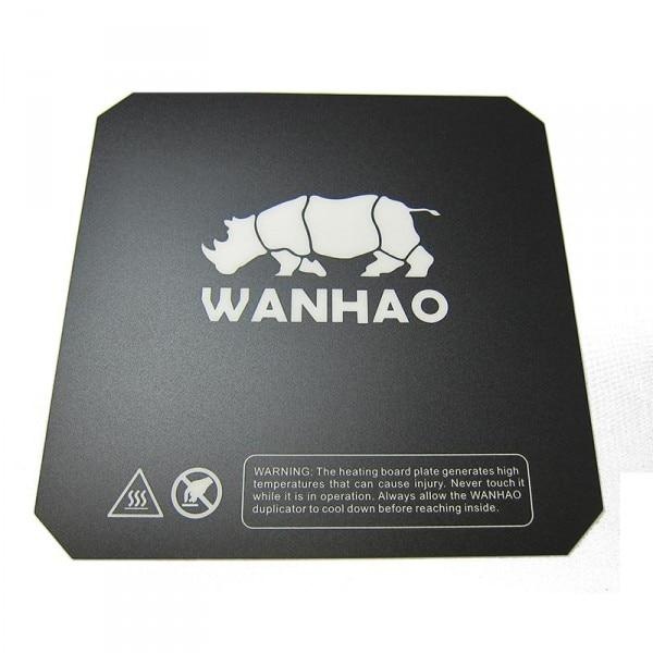 Funssor 5 uds/200/214/220mm i3 Wanhao superficie de impresión 3D superficie construir impresión superficie cuadrada hoja de la etiqueta engomada