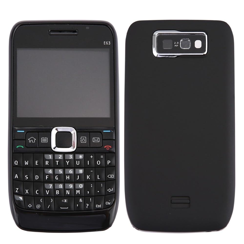 Full Housing Cover (Front Cover + Middle Frame Bezel + Battery Back Cover + Keyboard) for Nokia E63